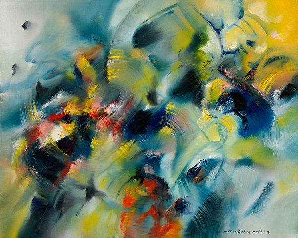 A Study in Harmony abstract painting