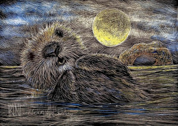 Afloat in the Moonlight