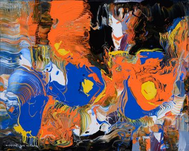 Compelling Emotion abstract painting