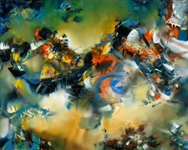 Consonance of Color abstract painting