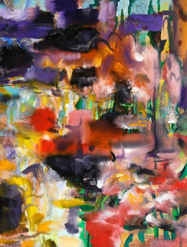 Corfu View abstract painting