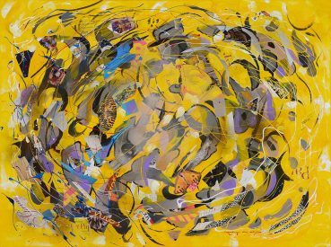 Cycle of Life abstract painting