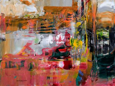 Desire abstract painting