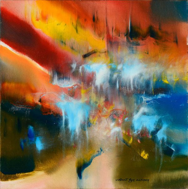 Elation abstract painting