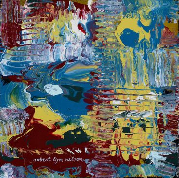 English Garden abstract painting