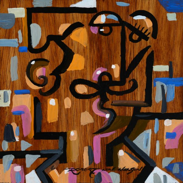 French Chef cubist painting