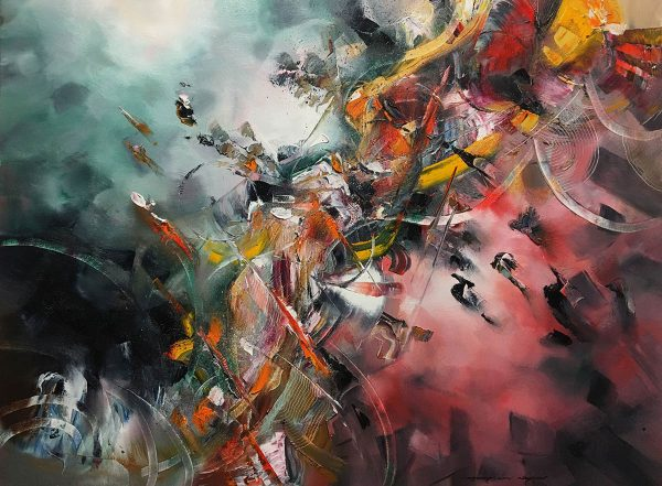 Harmony of Sounds abstract painting