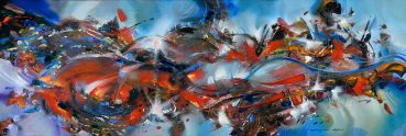 Language of the Mind abstract painting