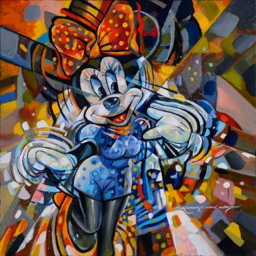 Minnie Mouse pop art