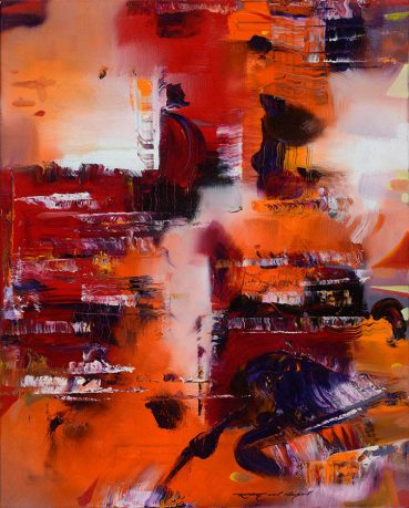 Modernization abstract painting