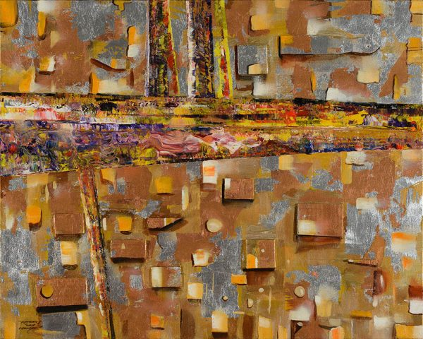 Monetary Standard abstract painting