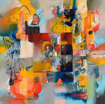Naples Clearing abstract painting