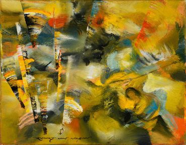 Natures Color Mass abstract painting