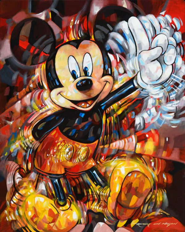 Number One Mickey pop art
