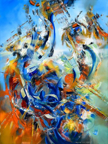 Pacific Pleasure abstract painting