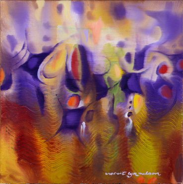 Pipe Dreams abstract painting