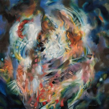 Return to Innocence abstract painting