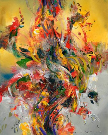 Summer Abstraction abstract painting
