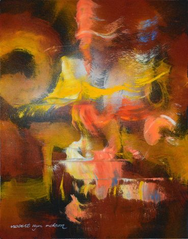 Sweet Honey abstract painting