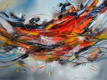 Synthesis of Love abstract painting