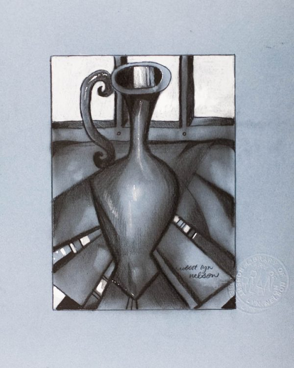 The Charcoal Vase