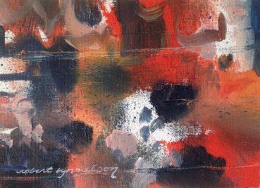 The Right Care abstract painting