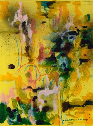 Under Summer Moods abstract painting