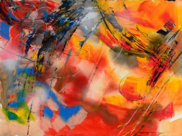 What is Reality abstract painting