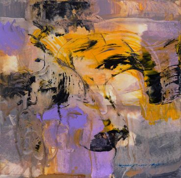 Woman's Mystery abstract painting