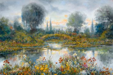 Soft Impression Giverny original painting