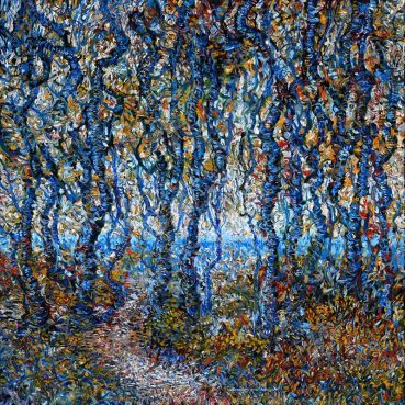 Thicket original impressionist painting