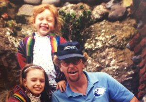 Robert Lyn Nelson with his family