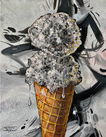 Two Scoops original painting